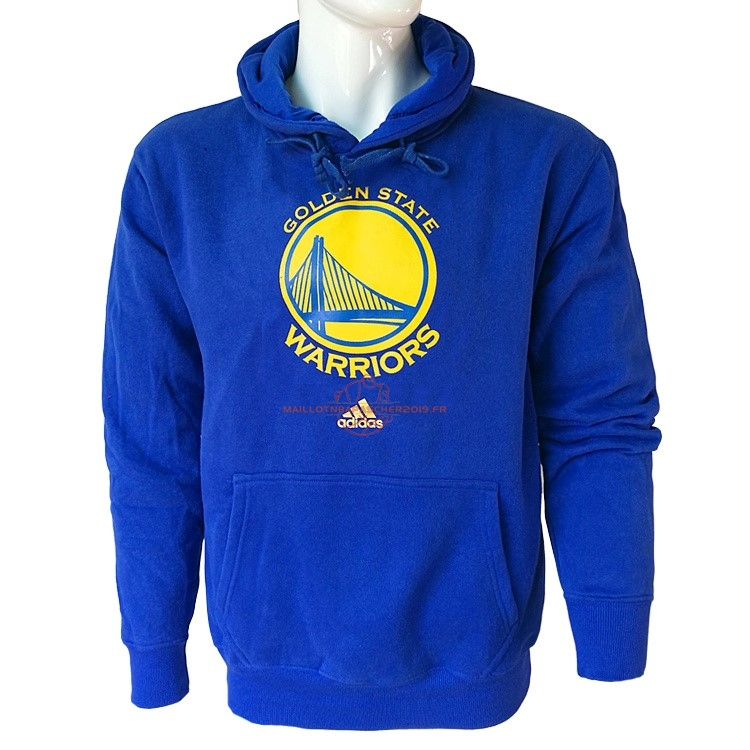 Achat Hoodies NBA Golden State Warriors Bleu City pas cher