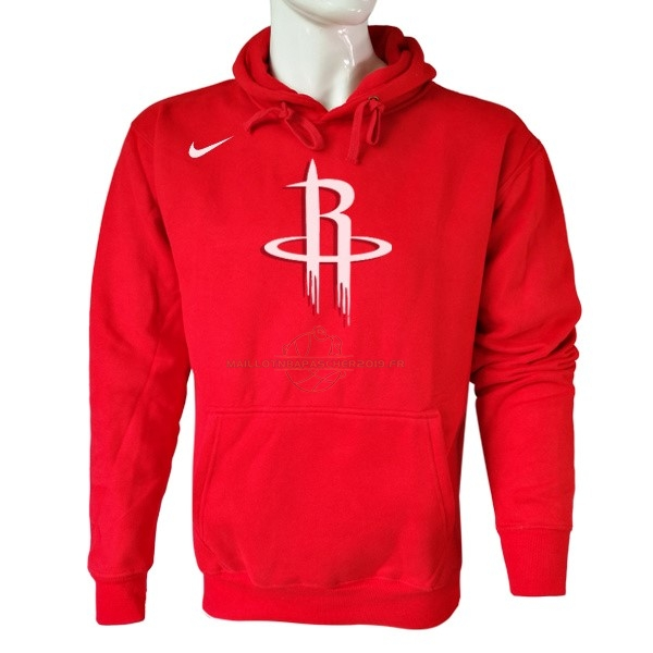 Achat Hoodies NBA Houston Rockets Nike Rouge pas cher