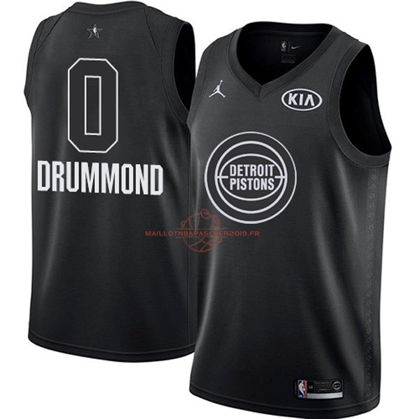 Achat Maillot NBA 2018 All Star NO.0 Andre Drummond Noir pas cher