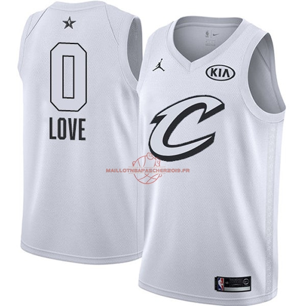 Achat Maillot NBA 2018 All Star NO.0 Kevin Love Blanc pas cher