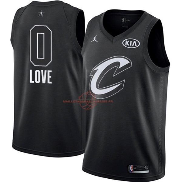 Achat Maillot NBA 2018 All Star NO.0 Kevin Love Noir pas cher