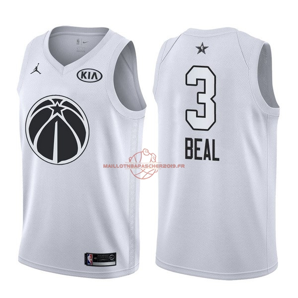Achat Maillot NBA 2018 All Star NO.3 Bradley Beal Blanc pas cher