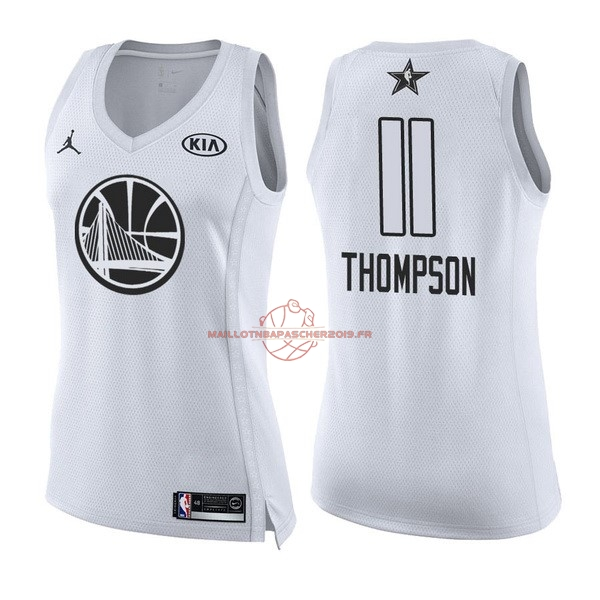 Achat Maillot NBA Femme 2018 All Star NO.11 Klay Thompson Blanc pas cher