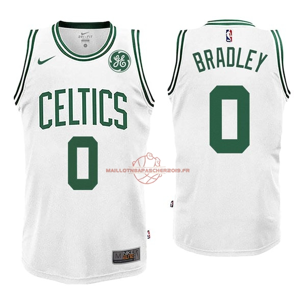 Achat Maillot NBA Nike Boston Celtics NO.0 Avery Bradley Blanc pas cher