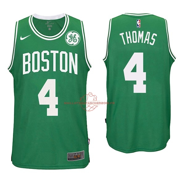 Achat Maillot NBA Nike Boston Celtics NO.4 Isaiah Thomas Vert pas cher