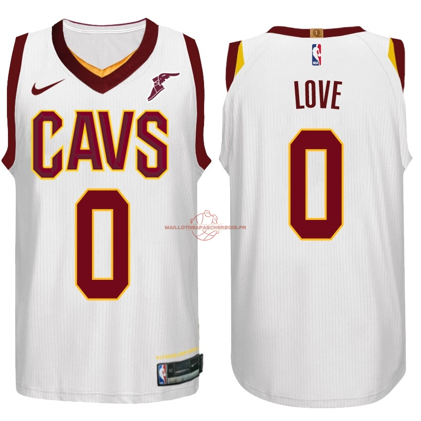Achat Maillot NBA Nike Cleveland Cavaliers NO.0 Kevin Love Blanc pas cher