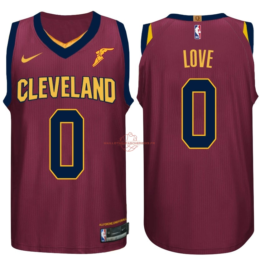 Achat Maillot NBA Nike Cleveland Cavaliers NO.0 Kevin Love Rouge pas cher