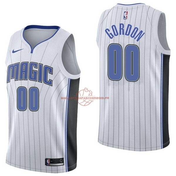 Achat Maillot NBA Nike Orlando Magic NO.0 Aaro Gordon Blanc Association pas cher
