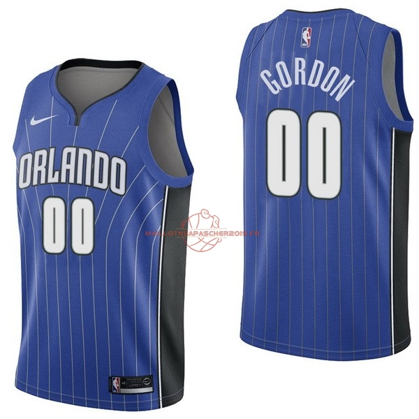 Achat Maillot NBA Nike Orlando Magic NO.0 Aaro Gordon Bleu Icon pas cher