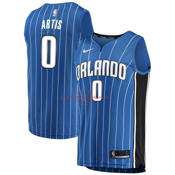 Achat Maillot NBA Nike Orlando Magic NO.0 Jamel Artis Bleu Icon pas cher