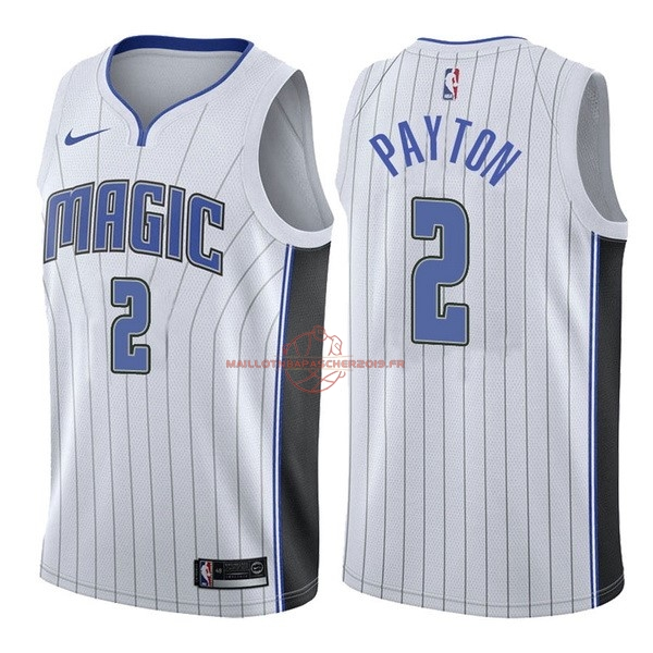 Achat Maillot NBA Nike Orlando Magic NO.2 Elfrid Payton Blanc Association pas cher