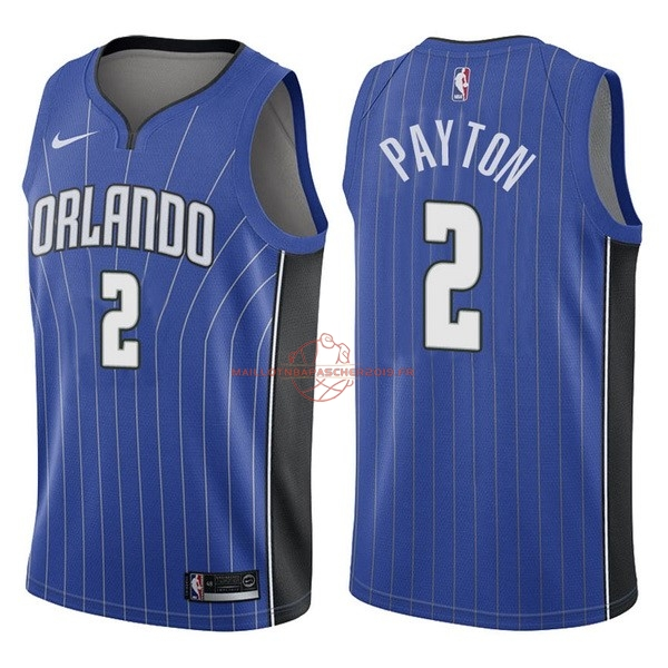 Achat Maillot NBA Nike Orlando Magic NO.2 Elfrid Payton Bleu Icon pas cher