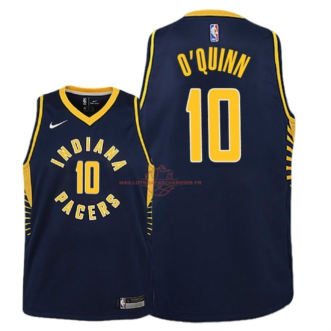 Achat Maillot NBA Enfant Indiana Pacers NO.10 Kyle O'Quinn Marine Icon 2018-19 pas cher