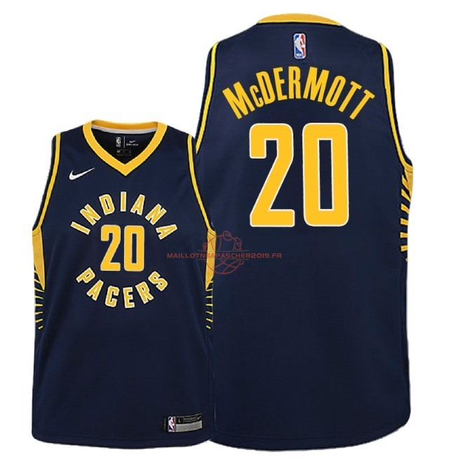Achat Maillot NBA Enfant Indiana Pacers NO.20 Doug McDermott Marine Icon 2018-19 pas cher