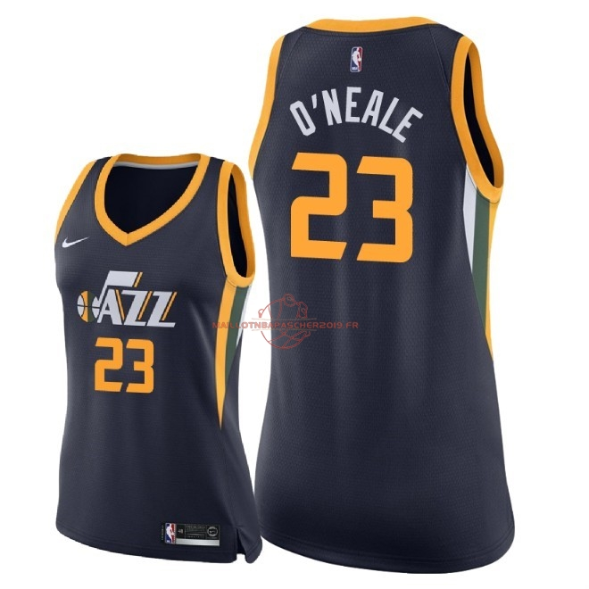 Achat Maillot NBA Femme Utah Jazz NO.23 Royce O'Neale Marine Icon 2018 pas cher