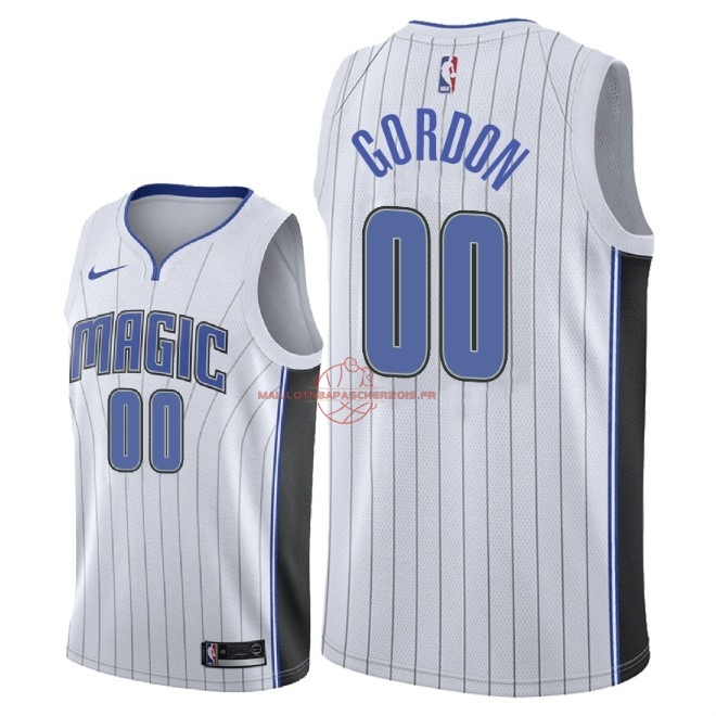 Achat Maillot NBA Nike Orlando Magic NO.0 Aaron Gordon Blanc Association 2018 pas cher