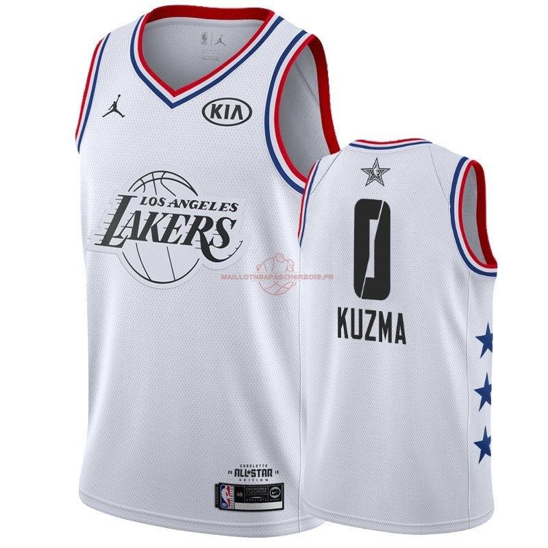 Achat Maillot NBA 2019 All Star NO.0 Kyle Kuzma Blanc pas cher