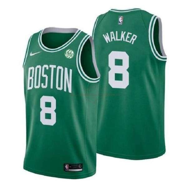 Achat Maillot NBA Enfant Boston Celtics NO.8 Kemba Walker Vert 2019-20