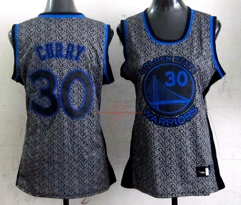 Achat Maillot NBA Femme 2013 Static Fashion NO.30 Stephen Curry pas cher