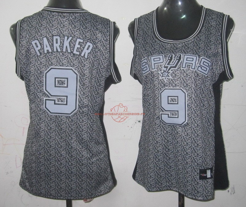 Achat Maillot NBA Femme 2013 Static Fashion NO.9 Tony Parker pas cher