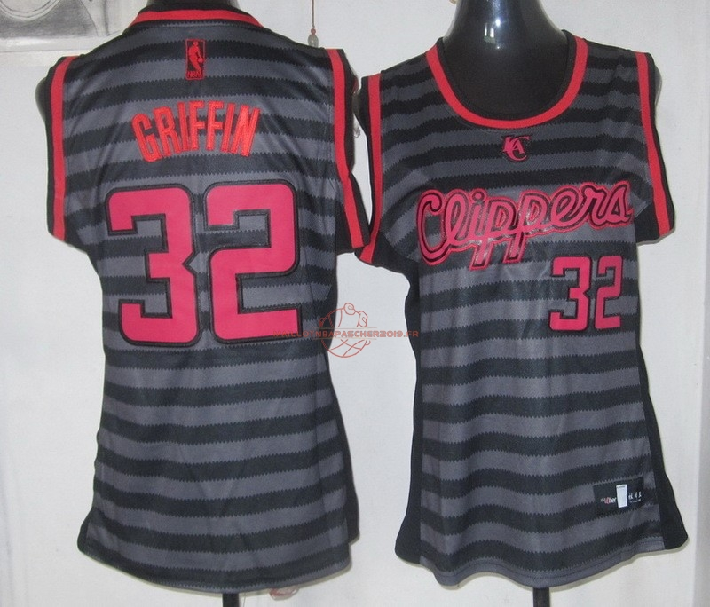 Achat Maillot NBA Femme Groove Fashion NO.32 Blake Griffin pas cher