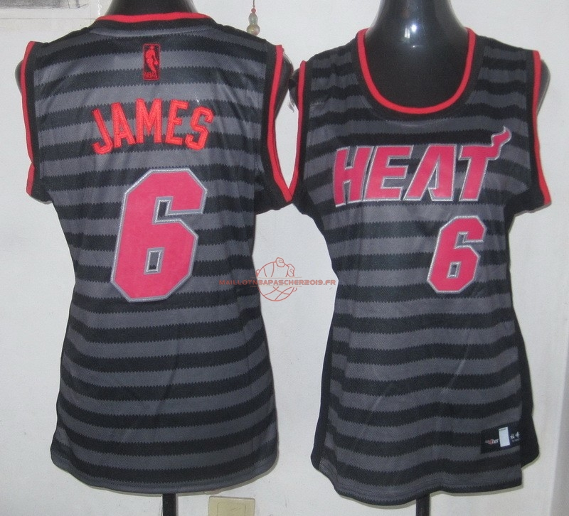 Achat Maillot NBA Femme Groove Fashion NO.6 LeBron James pas cher