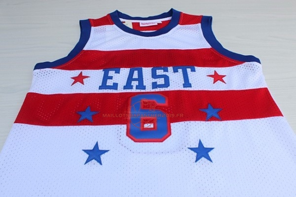 Achat Maillot NBA 1980 All Star NO.23 Julius Winfield Erving Blanc pas cher