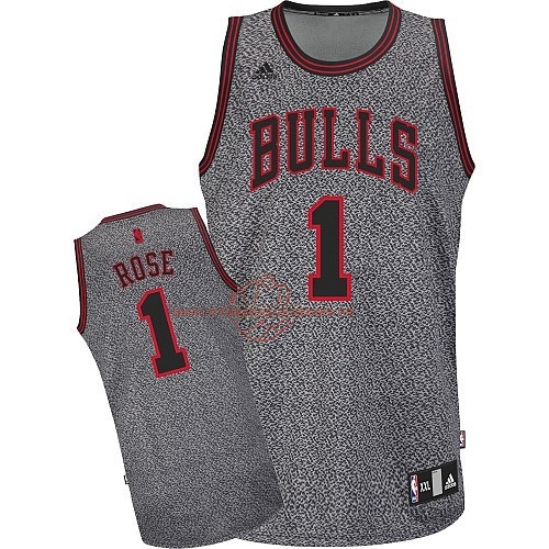 Achat Maillot NBA 2013 Static Fashion Chicago Bulls NO.1 Rose pas cher