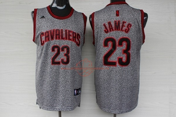 Achat Maillot NBA 2013 Static Fashion Cleveland Cavaliers NO.23 James pas cher
