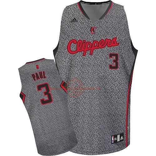 Achat Maillot NBA 2013 Static Fashion Los Angeles Clippers NO.3 Chris Paul pas cher