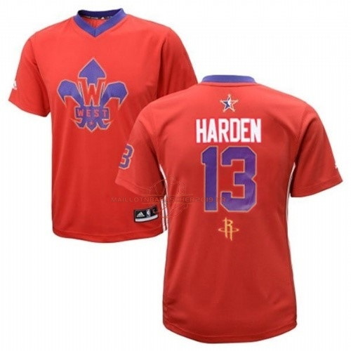 Achat Maillot NBA 2014 All Star NO.13 James Harden Rouge pas cher