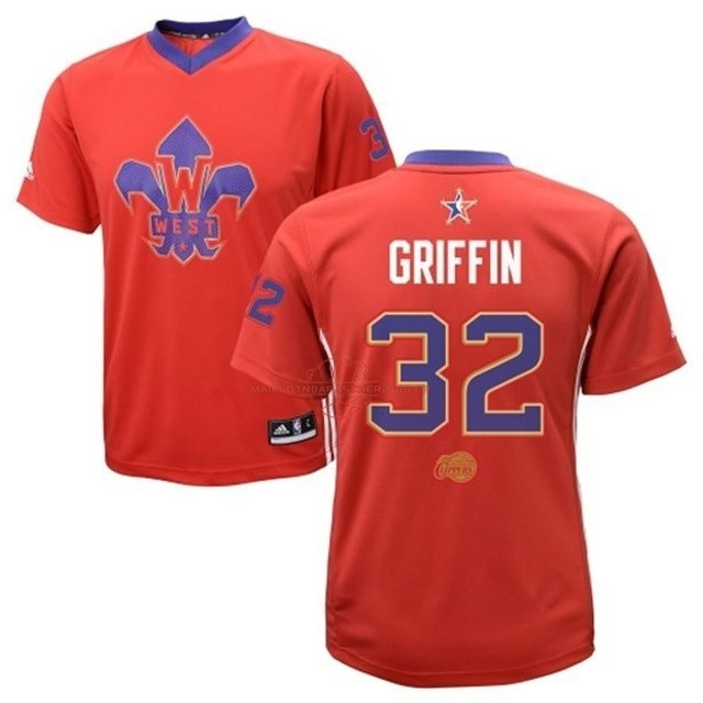 Achat Maillot NBA 2014 All Star NO.32 Blake Griffin Rouge pas cher