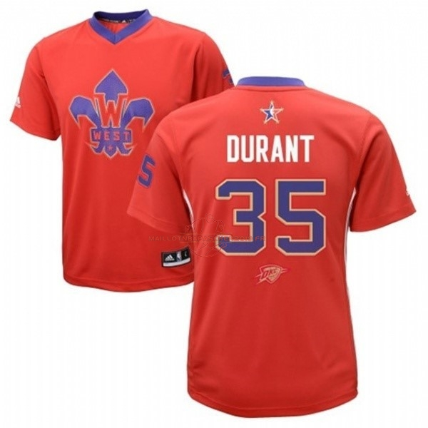 Achat Maillot NBA 2014 All Star NO.35 Kevin Durant Rouge pas cher