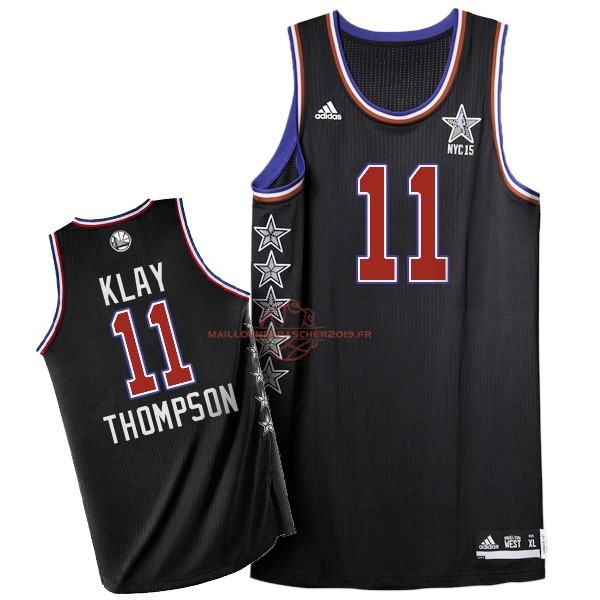 Achat Maillot NBA 2015 All Star NO.11 Klay Thompson Noir pas cher