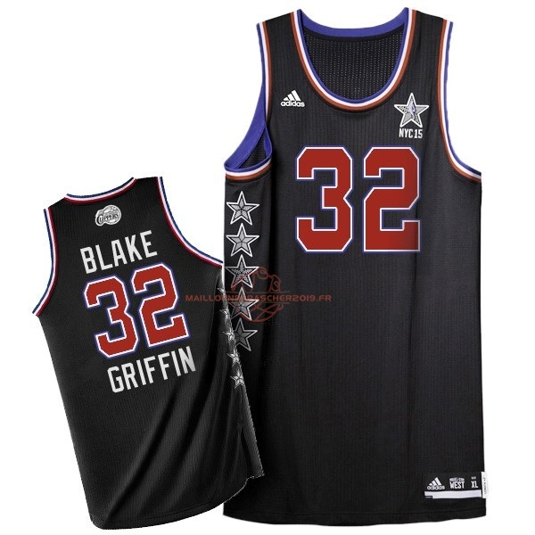 Achat Maillot NBA 2015 All Star NO.32 Blake Griffin Noir pas cher