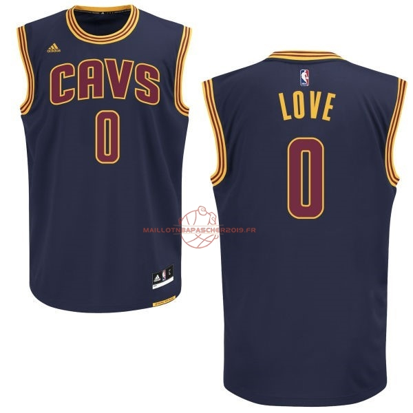 Achat Maillot NBA Cleveland Cavaliers NO.0 Kevin Love Bleu pas cher