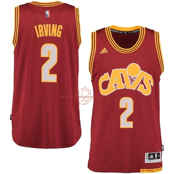 Achat Maillot NBA Cleveland Cavaliers NO.2 Kyrie Irving 2015-2016 Rouge pas cher