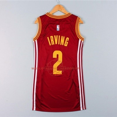 Achat Maillot NBA Femme Cleveland Cavaliers NO.2 Kyrie Irving Rouge pas cher