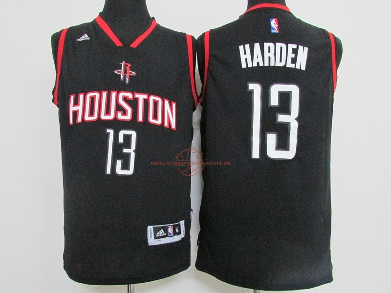 Achat Maillot NBA Houston Rockets NO.13 James Harden Noir pas cher