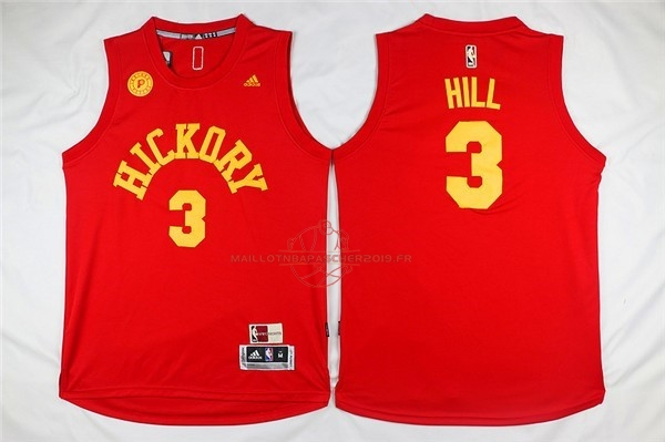 Achat Maillot NBA Indiana Pacers NO.3 George Hill Rouge pas cher