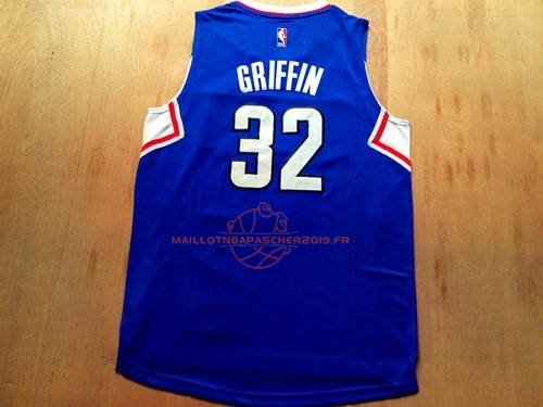 Achat Maillot NBA Los Angeles Clippers NO.32 Blake Griffin Bleu pas cher