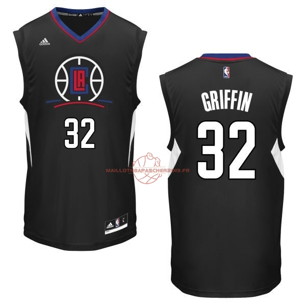 Achat Maillot NBA Los Angeles Clippers NO.32 Blake Griffin Noir pas cher