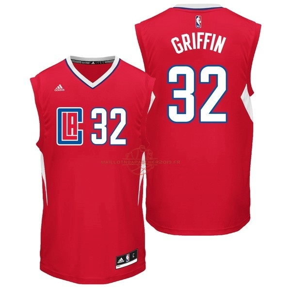 Achat Maillot NBA Los Angeles Clippers NO.32 Blake Griffin Rouge pas cher