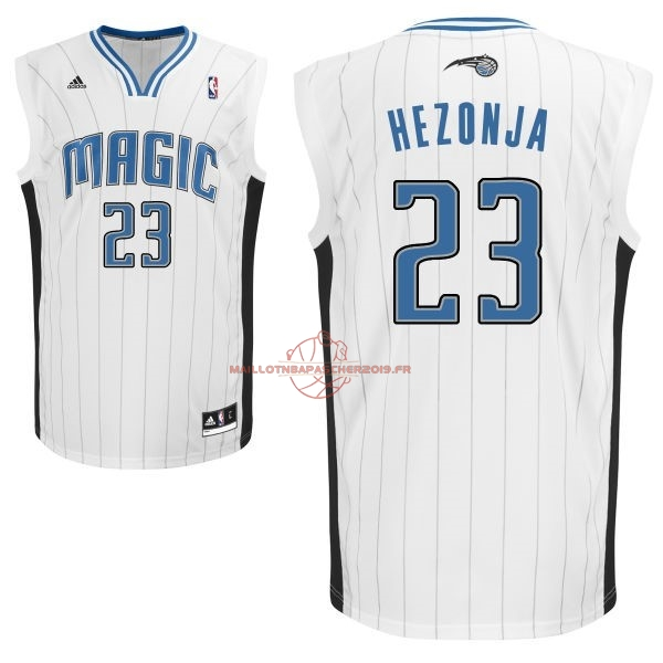 Achat Maillot NBA Orlando Magic NO.23 Mario Hezonja Blanc pas cher