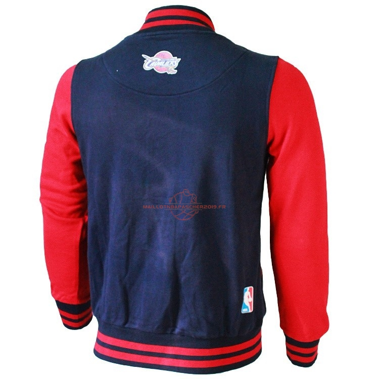 Achat Survetement En Laine NBA Cleveland Cavaliers NO.23 LeBron James Negr Rouge pas cher